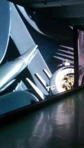 ecran led geant interieur au b52