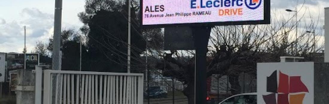 Ecran led géant extérieur à Alès